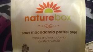 Honey Macadamia Pretzel Pops